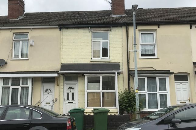 2 bed terraced house for sale in 50 Crowther Street, Wolverhampton WV10
