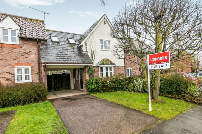 Thumbnail Terraced house for sale in Victoria Gardens, Highwoods, Colchester