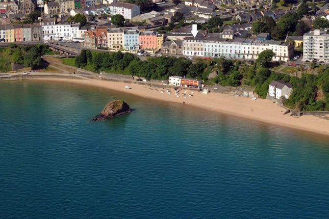 Thumbnail Flat for sale in Croft House, The Croft, Tenby, Pembrokeshire
