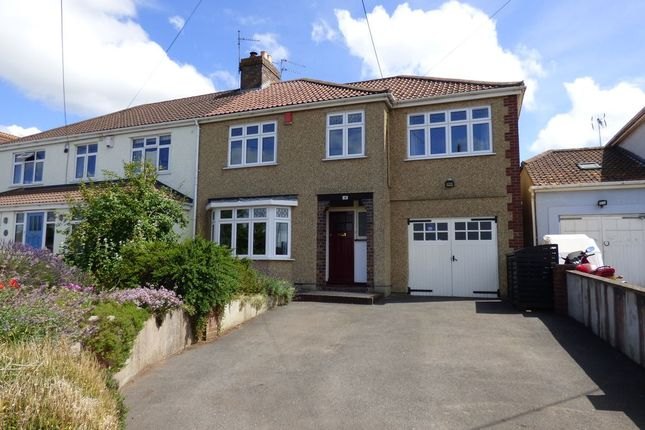 Thumbnail Semi-detached house for sale in Bristol Road, Winterbourne, Bristol