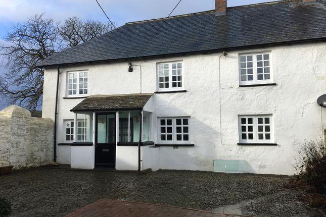 Thumbnail Semi-detached house to rent in Umberleigh Barton, Umberleigh