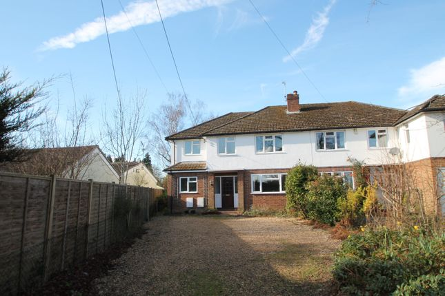 Thumbnail Semi-detached house to rent in Bearwood Road, Wokingham, Berkshire
