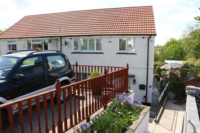 Thumbnail Semi-detached house for sale in Billingham Crescent, Merthyr Tydfil