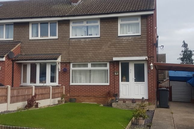Thumbnail Semi-detached house to rent in Bluebird Hill, Aston, Sheffield