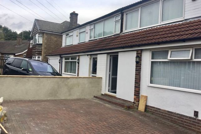 Thumbnail Semi-detached house to rent in Meadow Park Drive, Pudsey