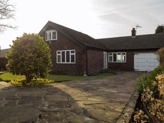 Thumbnail Bungalow for sale in Wood Lane South, Adlington, Macclesfield, Cheshire