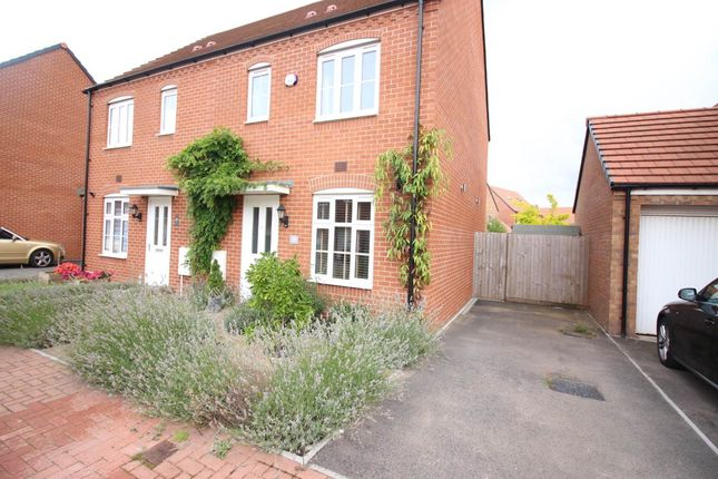 Thumbnail Semi-detached house to rent in Lysaght Gardens, Newport, Gwent