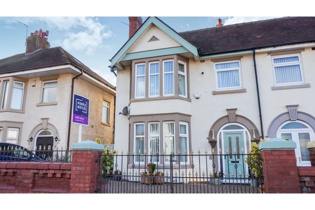 Thumbnail Semi-detached house for sale in Alpic Drive, Little Bispham, Thornton-Cleveleys