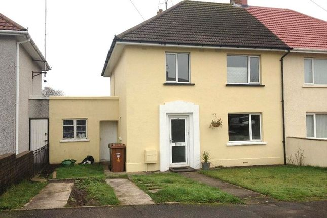 Thumbnail Semi-detached house to rent in Heol-Y-Parc, Caerphilly