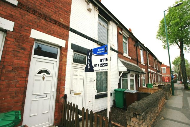 Thumbnail Terraced house to rent in Vernon Road, Basford, Nottingham