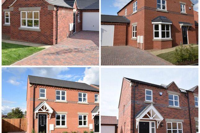 Thumbnail Semi-detached house to rent in Thurgaton Way, Newton, Alfreton, Derbyshire