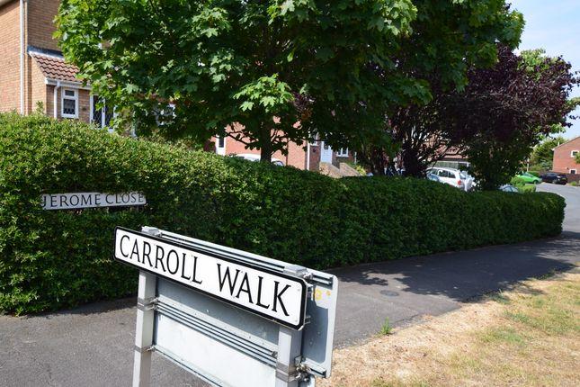 Location of Carroll Walk, Eastbourne BN23