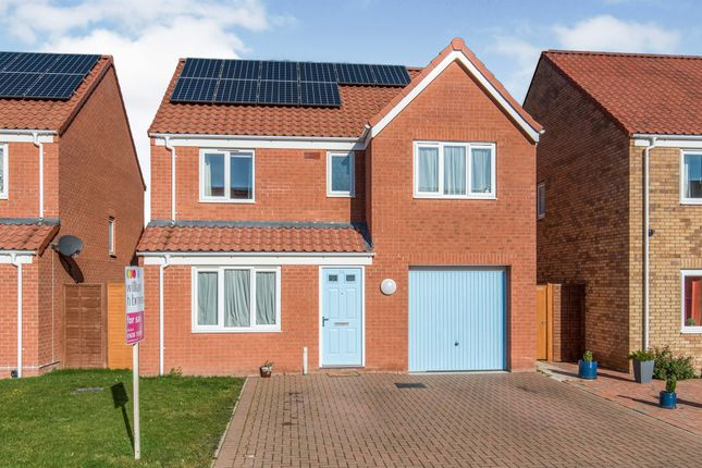 Thumbnail Detached house for sale in Harrow Drive, Beck Row, Bury St. Edmunds