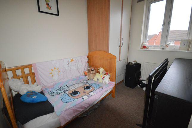 Bedroom of Mason Crescent, Swadlincote, Derbyshire DE11