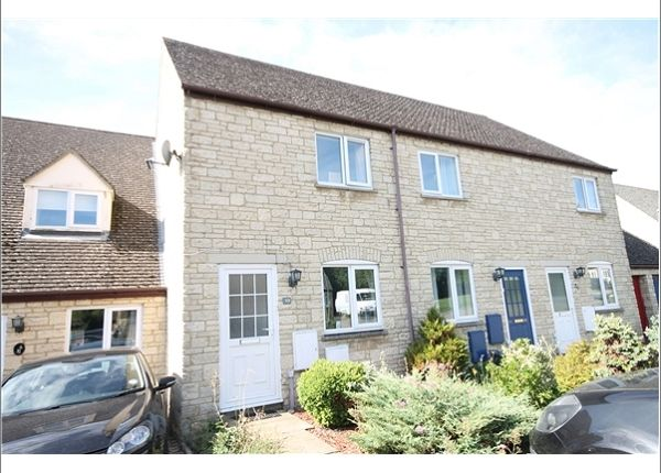 Thumbnail Terraced house to rent in Aldsworth Court, Witney