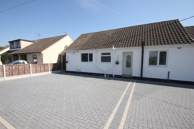Thumbnail Semi-detached bungalow for sale in Harewood Avenue, Ashingdon, Rochford