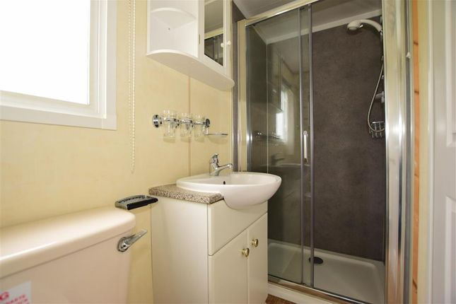 Shower Room of Sandhills Holiday Park, Whitecliff Bay, Bembridge, Isle Of Wight PO35