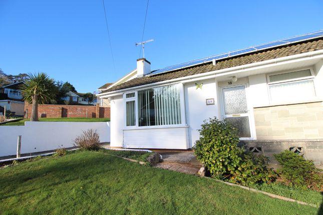 Thumbnail Semi-detached bungalow for sale in Brantwood Drive, Paignton