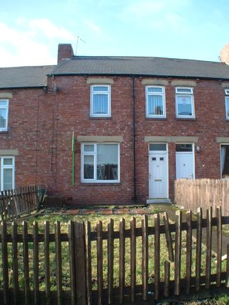 Front Elevation of Ernest Street, Chester Le Street DH2