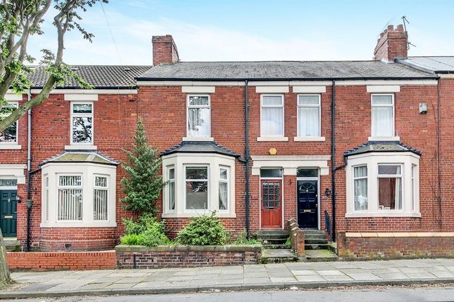 Terraced house for sale in Queen Alexandra Road West, North Shields