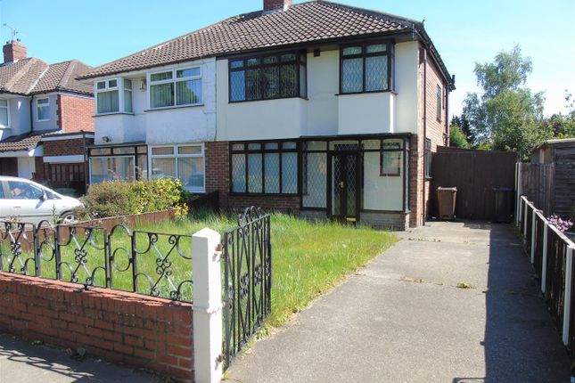 Thumbnail Semi-detached house for sale in Old Racecourse Road, Maghull, Liverpool