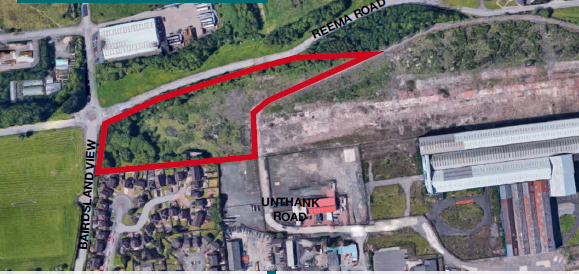 Thumbnail Land for sale in Reema Road, Bellshill