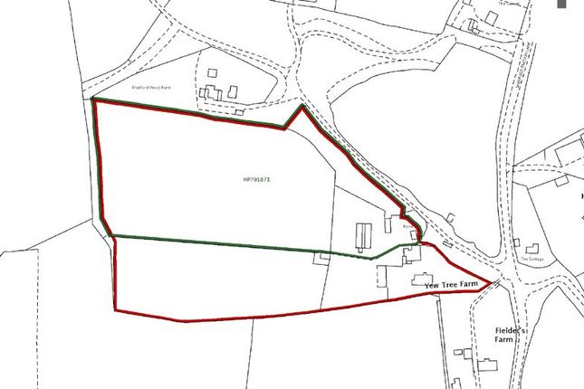 Thumbnail Land for sale in Sherfield English Lane, Plaitford, Romsey