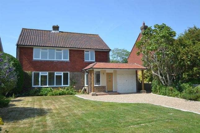 Thumbnail Detached house for sale in Old Camp Road, Summerdown, Eastbourne