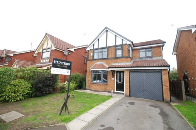 Thumbnail Detached house for sale in Fresnel Close, Hyde