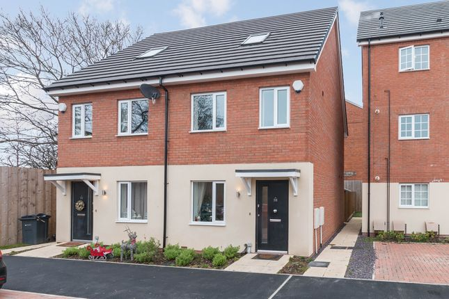 Thumbnail Semi-detached house for sale in Welby Road, Hall Green, Birmingham