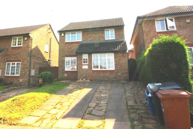 Thumbnail Detached house for sale in Hunsbarrow Road, Northampton