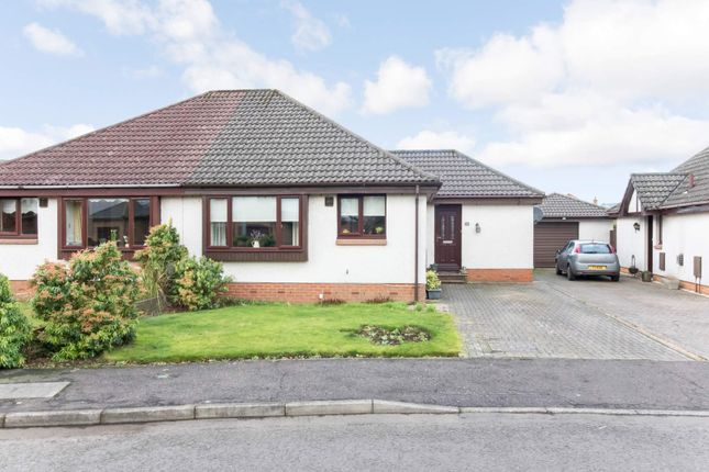 Thumbnail Semi-detached bungalow for sale in Lathro Park, Kinross
