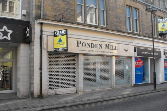 Thumbnail Retail premises for sale in 36 Channel Street, Galashiels