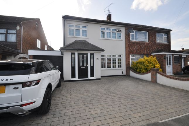 Thumbnail Semi-detached house for sale in Virginia Close, Benfleet