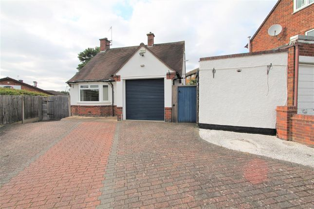 Thumbnail Detached bungalow for sale in Wigston Road, Oadby, Leicester