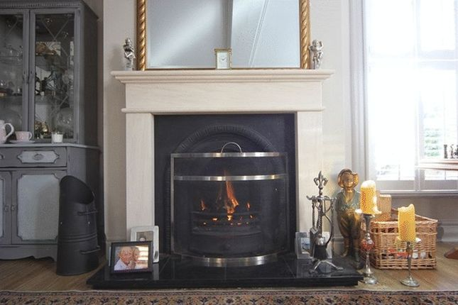 Reception Room - Fireplace