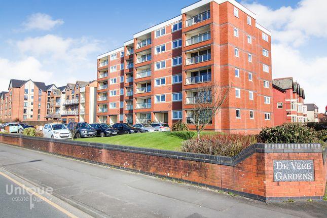 Thumbnail Flat for sale in De Vere Gardens, 49 South Promenade, Lytham St. Annes