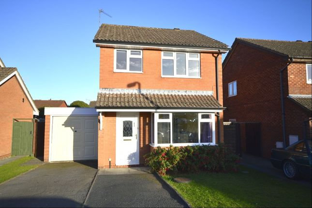 Thumbnail Detached house to rent in Aston Way, Oswestry
