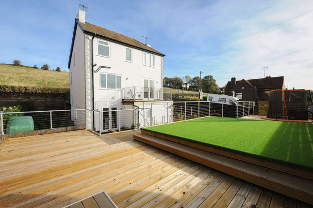 Thumbnail Detached house for sale in Broomhill Road, Old Whittington, Chesterfield