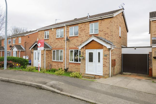 Thumbnail Semi-detached house for sale in Hedley Drive, Brimington, Chesterfield