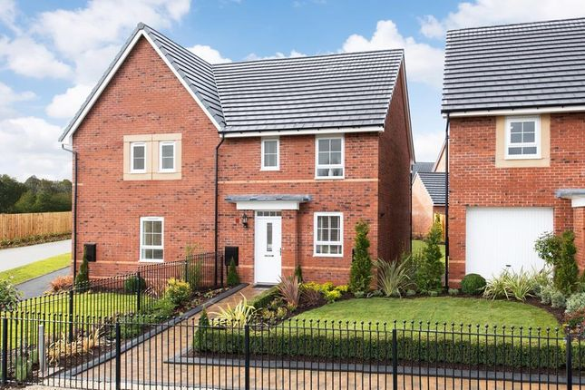 "Thumbnail Semi-detached house for sale in ""Barwick"" at Dearne Hall Road, Barugh Green, Barnsley"