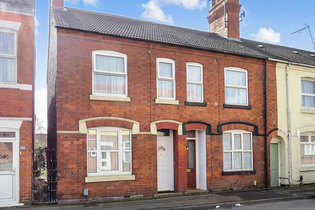 Thumbnail End terrace house for sale in Upper Queen Street, Rushden