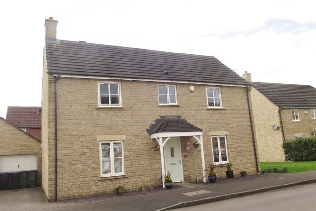 Thumbnail Detached house for sale in Stickleback Road, Calne