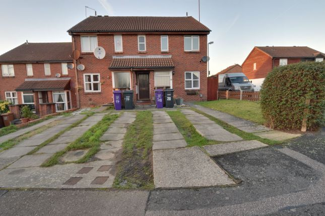 Thumbnail Flat to rent in Sanderling Close, Letchworth
