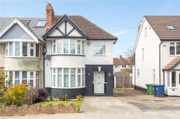 3 bed semi-detached house for sale in Ridding Lane, Sudbury Hill, Harrow UB6