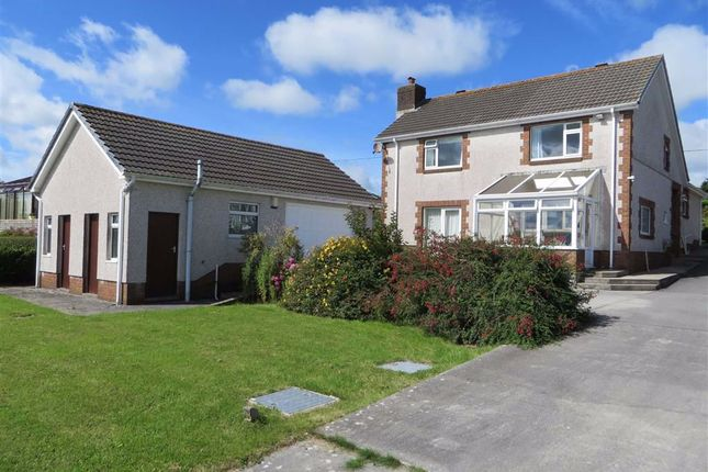 Thumbnail Detached house for sale in Coopers Road, Capel Hendre, Ammanford