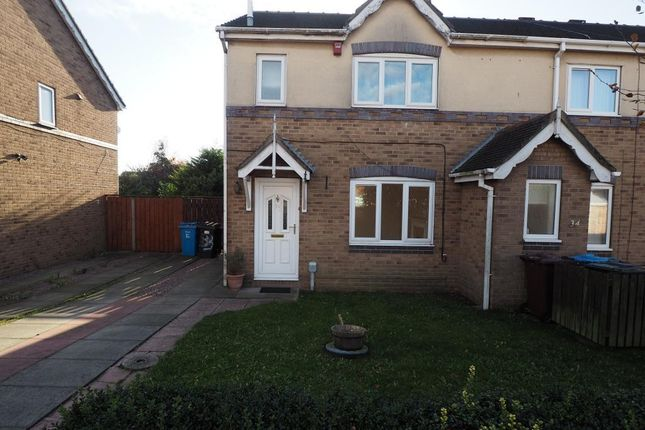 Thumbnail Semi-detached house to rent in Appledore Close, Victoria Dock, Hull