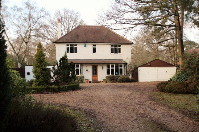 Thumbnail Detached house for sale in Reading Road, Padworth Common
