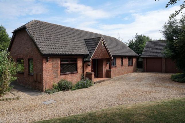 Thumbnail Detached bungalow for sale in Sheppey Lane, Northampton