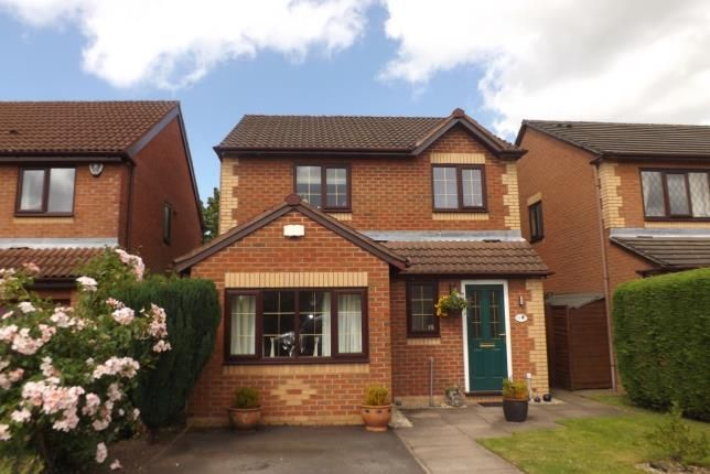 Thumbnail Detached house for sale in Shelley Close, Rode Heath, Stoke-On-Trent, Cheshire